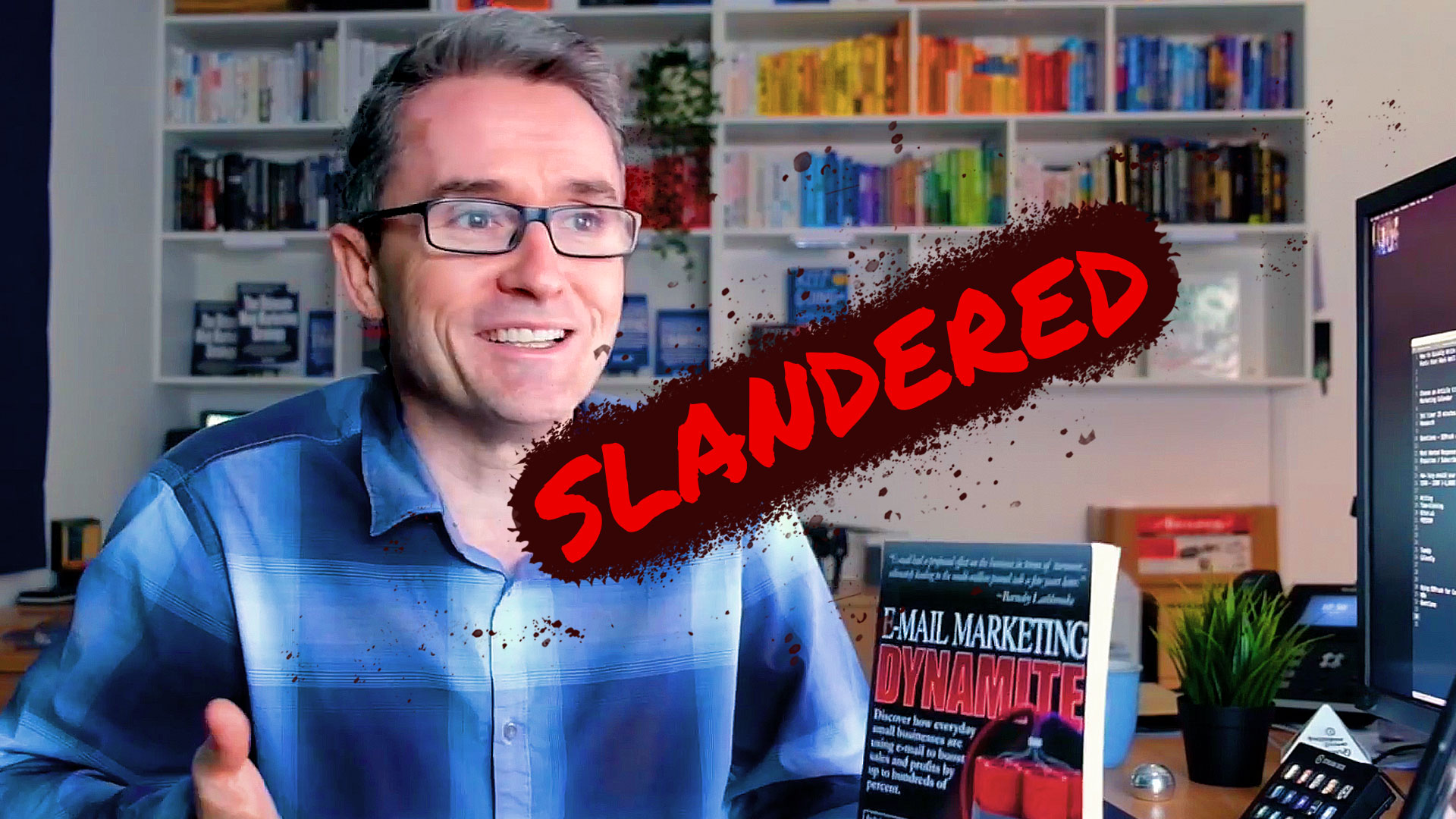 How I was Slandered on Amazon Because of Effective Email Marketing